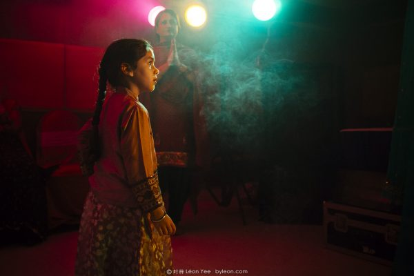 A Girl in the Indian Wedding