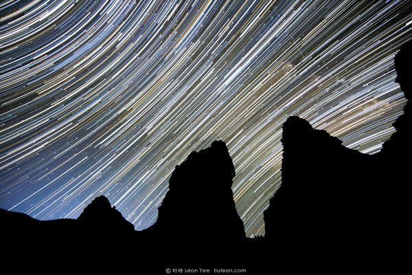 Star Trails in Tibet